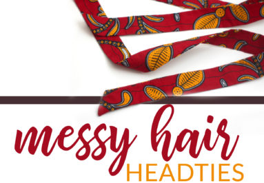 Messy Hair Head Ties Collection