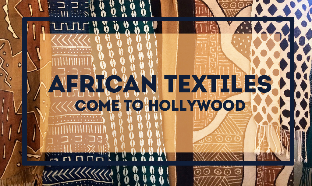 African Fashion and Fabrics Go Hollywood