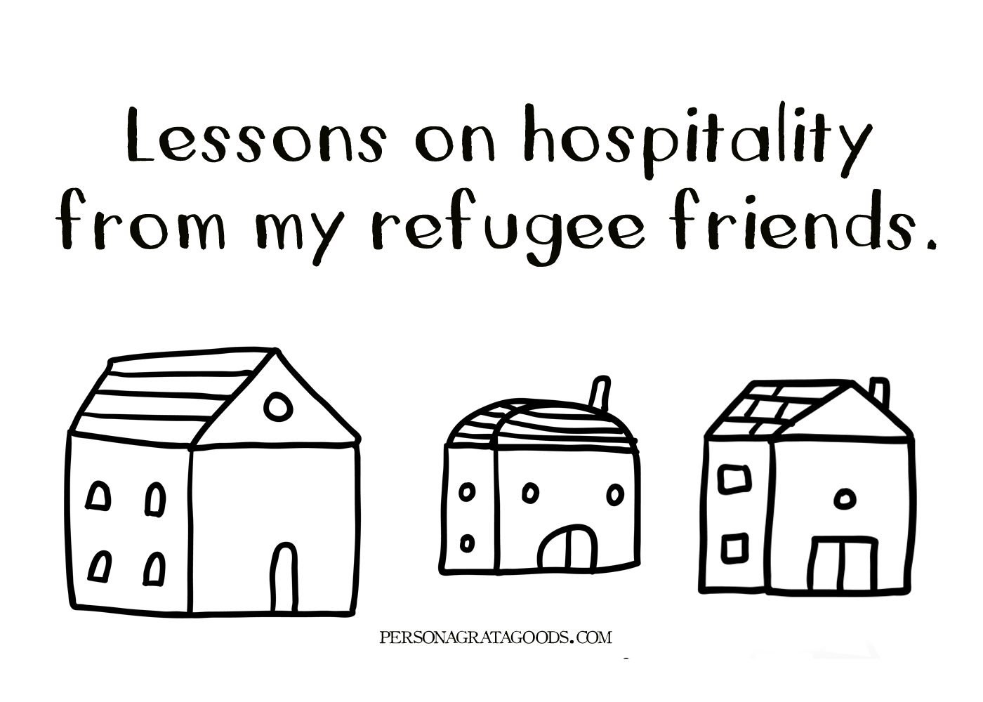 Hospitality Lessons from Refugees