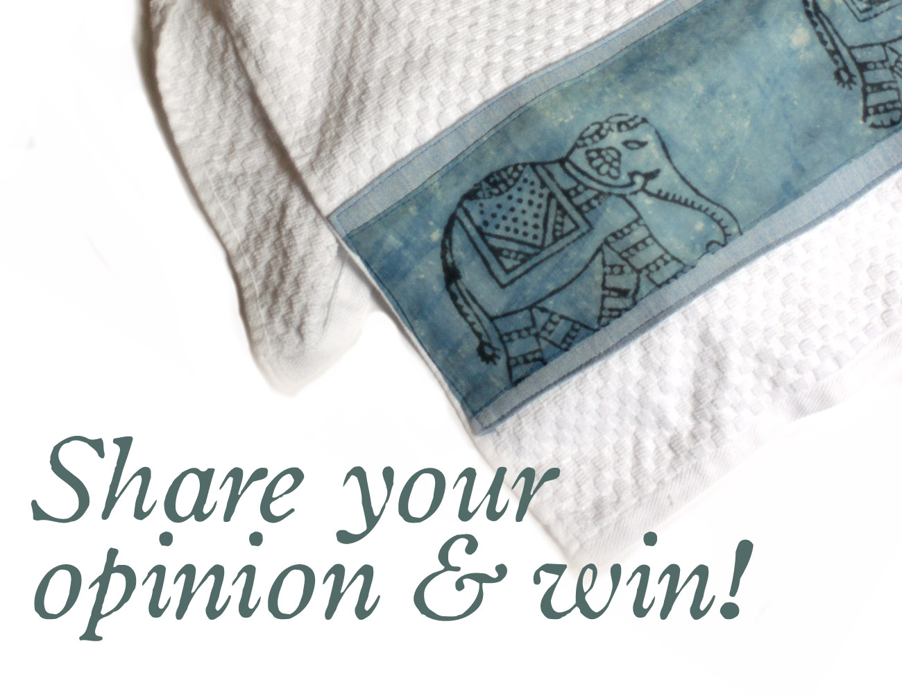 Kitchen Towel Feedback & Giveaway