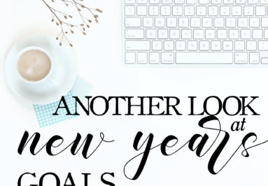 Creating Goals for 2019