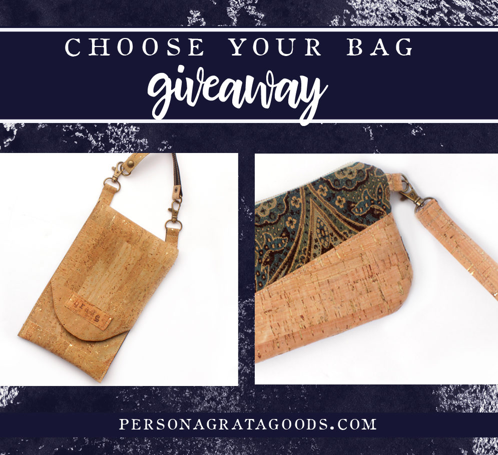 Cork Bag Autumn Giveaway!