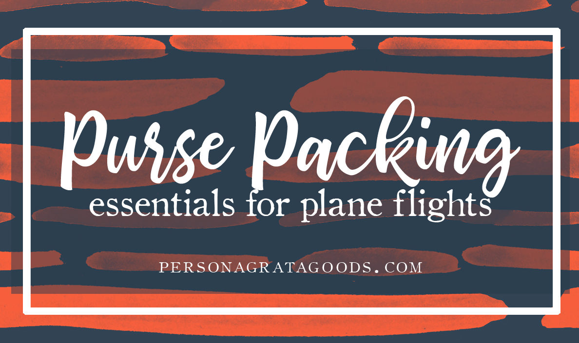 Packing a Travel Bag for Airplane Flights (With Kids)